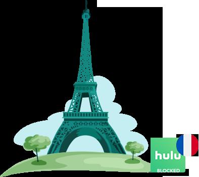 Access Hulu in France