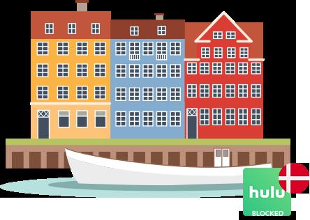 Access Hulu in denmark