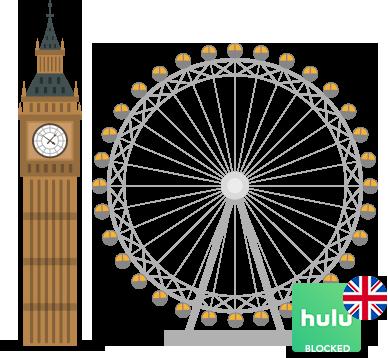 Access Hulu in uk