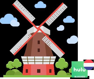 Access Hulu in Netherlands