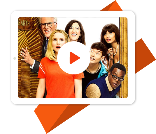 The Good Place with NBC VPN
