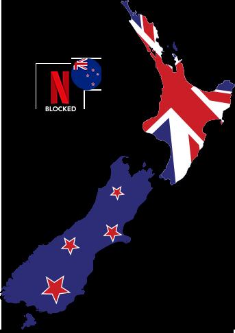 Watch American Netflix in New Zealand