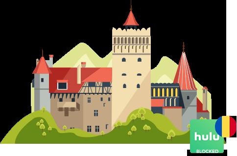 Access Hulu in Romania