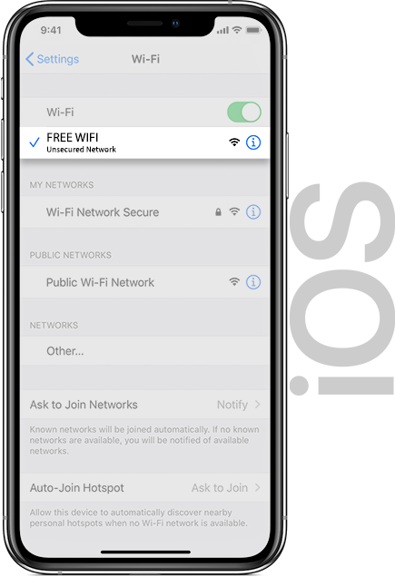 Fort Wifi IOS