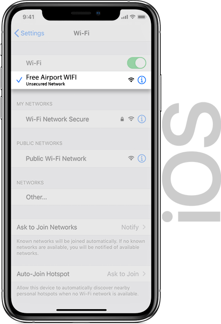 Houston Wifi IOS
