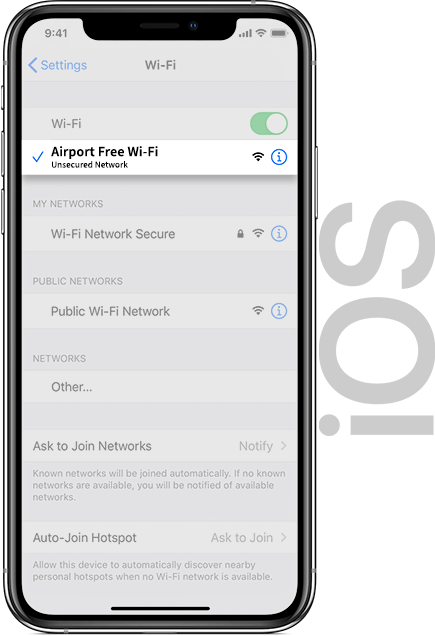 Liverpool Airport Wifi IOS