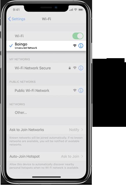 Oakland Airport Wifi iOS
