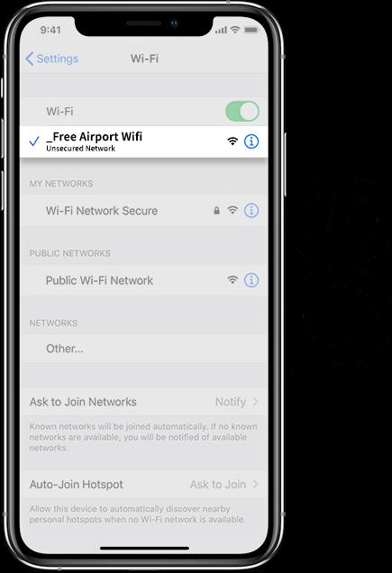Prestwick Airport Wifi iOS
