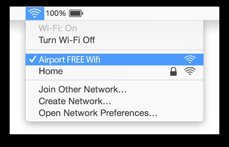Birmingham Airport Wifi Mac