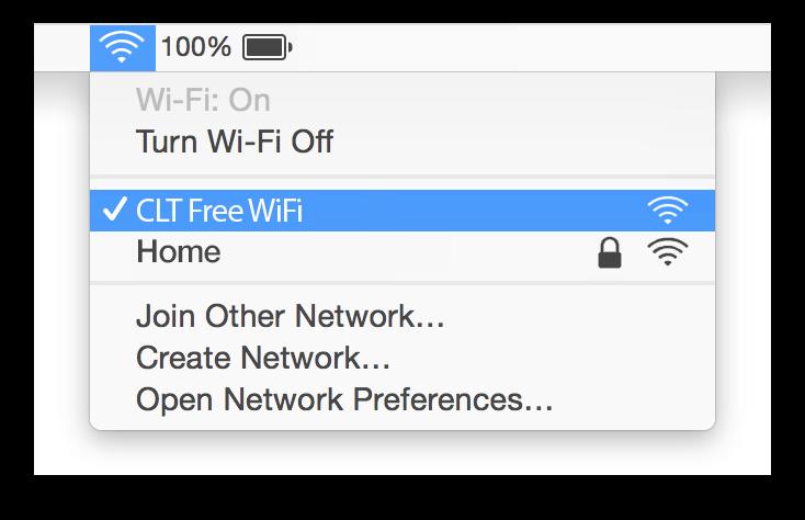 CLT WiFi Mac