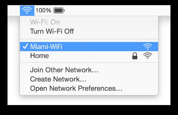 Miami WiFi Mac