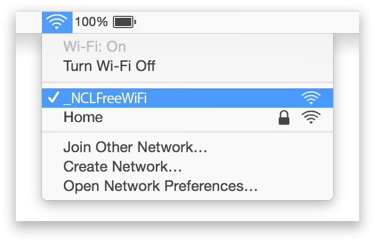 Newcastle Airport Wifi Mac