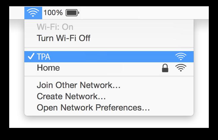 Tampa Airport Wifi Mac