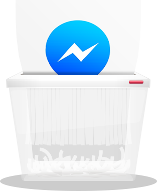 How to delete facebook messenger