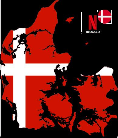 Watch American Netflix in Denmark