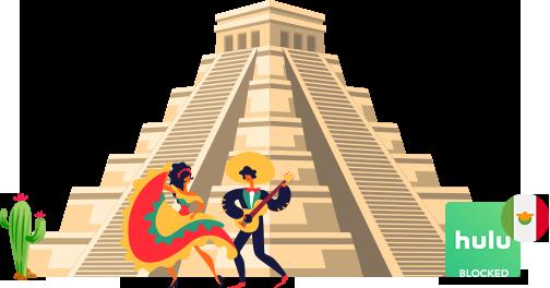 Access Hulu in Mexico