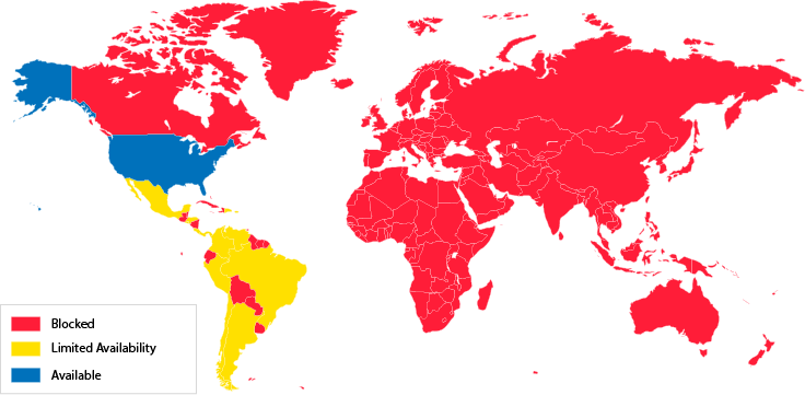 univision available countries